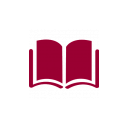 book open icon red