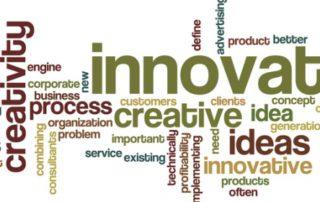 meli melo de mots sur le thème de l'innovation