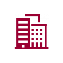 buildings icon red