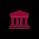 pantheon icon red
