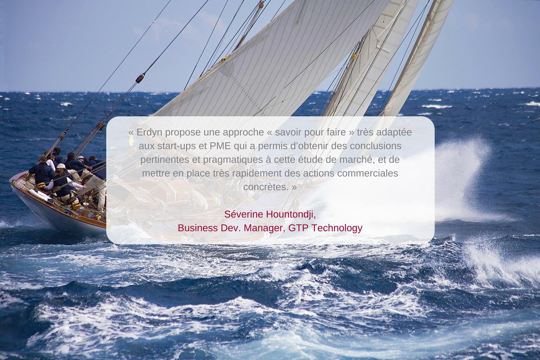 Témoignage de Séverine Hountondji, Business Développeur chez GTP Technology