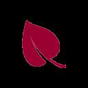leaf icon red