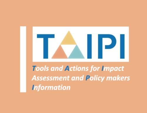 Le rapport du projet européen TAIPI est disponible!
